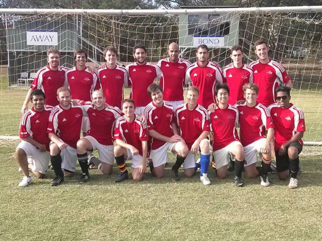 UQ Reds at the 2013 tournament.